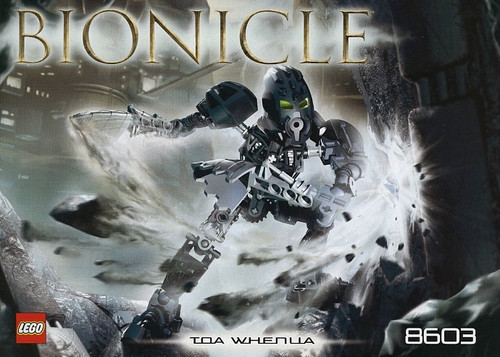 LEGO Bionicle Toa Metru Nui Toa Whenua Set #8603