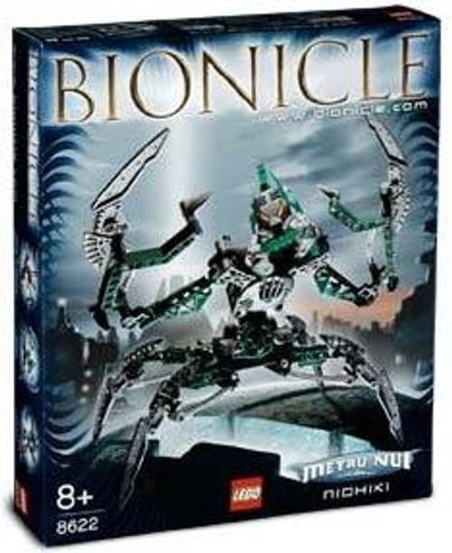 LEGO Bionicle Metru Nui Nidhiki Set #8622