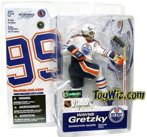 McFarlane Toys NHL Edmonton Oilers Sports Picks Legends Series 2 Wayne Gretzky Action Figure [White Jersey Variant]