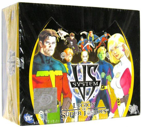 DC VS System Trading Card Game Legion of Super Heroes Booster Box [Sealed]