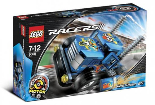 LEGO Racers Side Rider 55 Set #8668