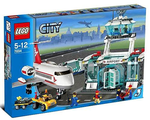 LEGO City Airport Set #7894 [Damaged Package]