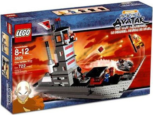 LEGO Avatar the Last Airbender Fire Nation Ship Set #3829