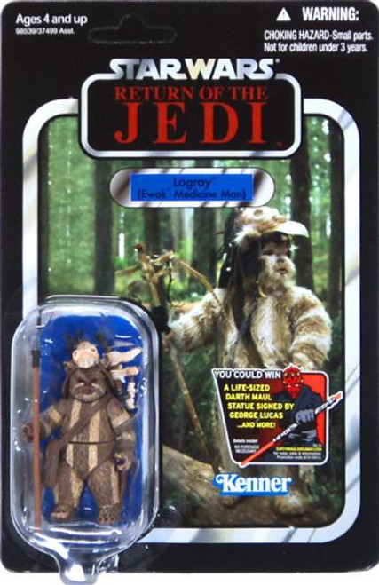 Star Wars Return of the Jedi Vintage Collection 2012 Logray Action Figure #53 [Ewok Medicine Man]