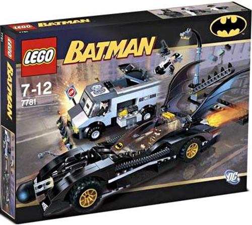 LEGO Batman The Batmobile: Two-Face's Escape Set #7781