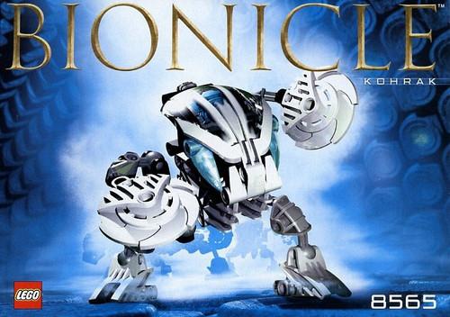 LEGO Bionicle Bohrok Kohrak Set #8565