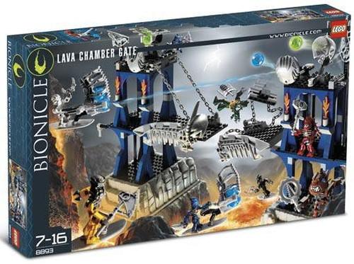LEGO Bionicle Lava Chamber Gate Set #8893