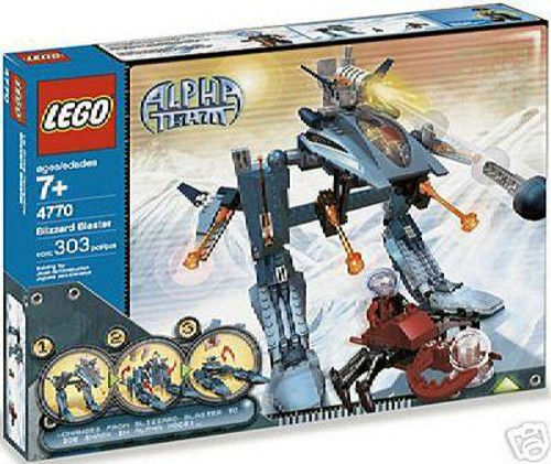LEGO Alpha Team Blizzard Blaster Set #4770