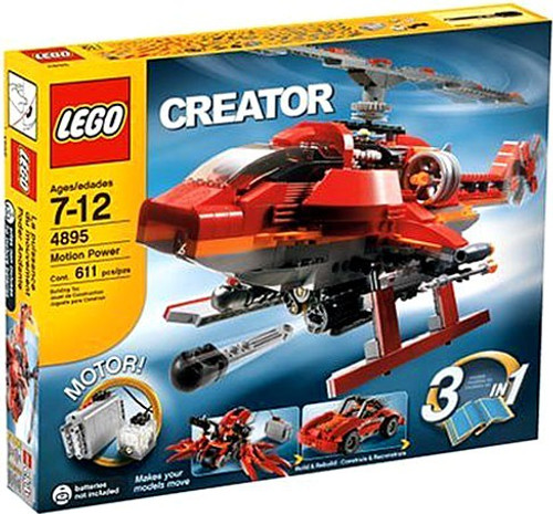 LEGO Creator Motion Power Set #4895