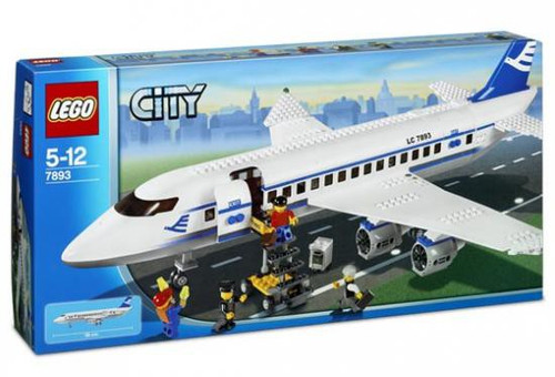 LEGO City Passenger Plane Set #7893