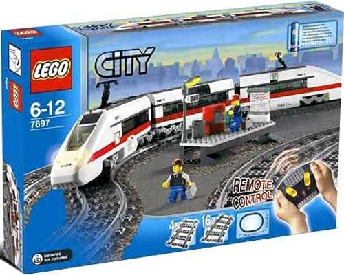 LEGO City Train Starter Set Set #7897