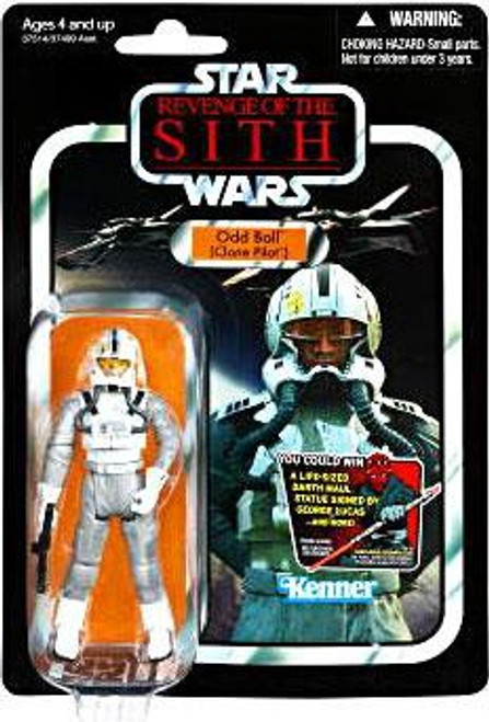 Star Wars Revenge of the Sith Vintage Collection 2012 Odd Ball Action Figure #97 [Clone Pilot]