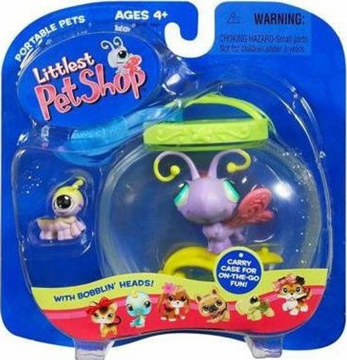 Littlest Pet Shop Pet Pairs Butterfly & Caterpillar Figure 2-Pack [Jar]