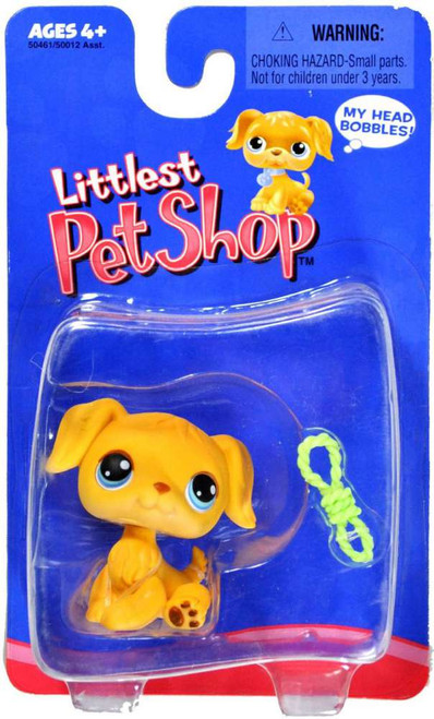 Littlest Pet Shop Golden Retriever Mini Figure