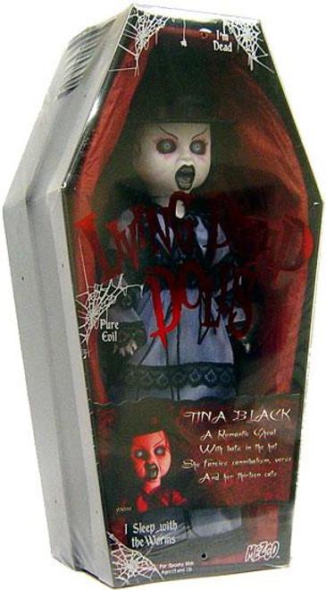 Living Dead Dolls Series 10 Tina Black Doll