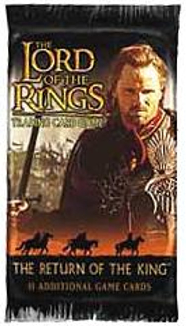 The Lord of the Rings Trading Card Game Return of the King Booster Pack