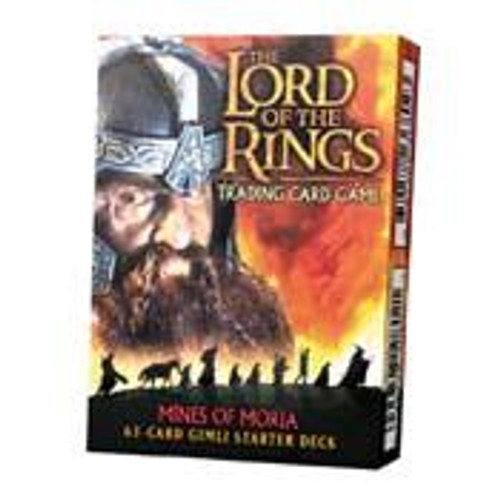 The Lord of the Rings Trading Card Game Mines of Moria Gimli Starter Deck