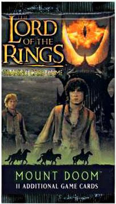 The Lord of the Rings Trading Card Game Mount Doom Booster Pack