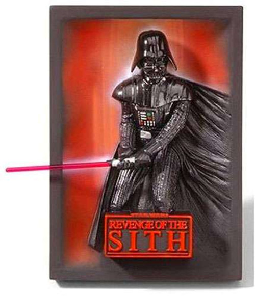 Star Wars 3-D Movie Poster Sculptures Revenge of the Sith 3-D Movie Poster Sculpture 46-Inch [Darth Vader]
