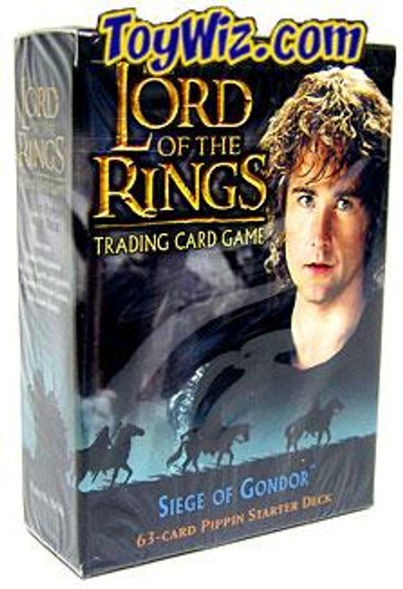 The Lord of the Rings Trading Card Game Siege of Gondor Pippin Starter Deck