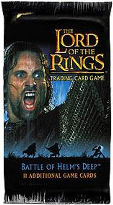 The Lord of the Rings Trading Card Game Battle of Helm's Deep Booster Pack