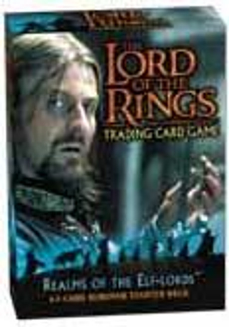 The Lord of the Rings Trading Card Game Realm of the Elf-Lords Boromir Starter Deck