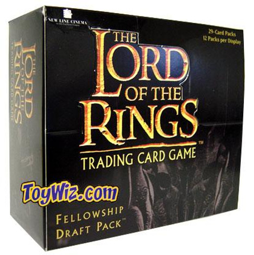 The Lord of the Rings Trading Card Game Fellowship Draft Pack Booster Box