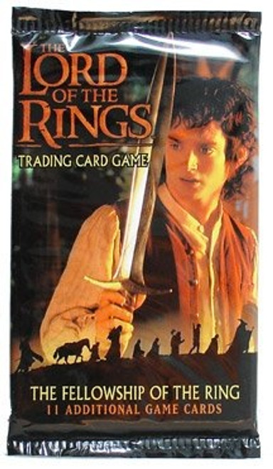 The Lord of the Rings Trading Card Game The Fellowship of the Ring Booster Pack