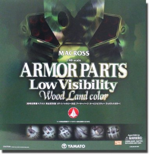 Robotech Macross Low Visibility Camo Version Upgrade Kit