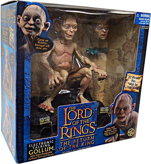 The Lord of the Rings The Return of the King Deluxe Talking Gollum Figure [Smeagol]