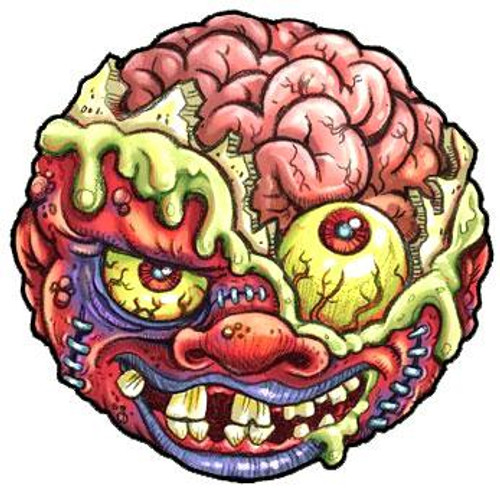 Madballs Classic Series 1 Bash Brain Mad Ball