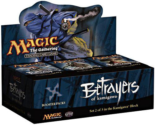 MtG Betrayers of Kamigawa Booster Box [Sealed]