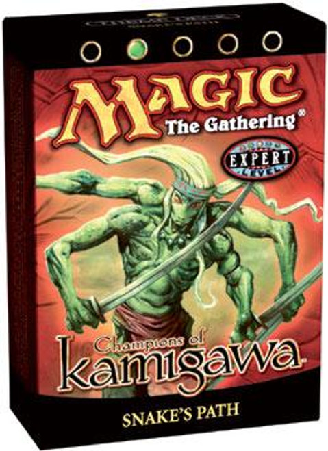 MtG Champions of Kamigawa Snake's Path Theme Deck [Sealed Deck]