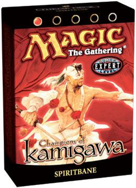 MtG Champions of Kamigawa Spiritbane Theme Deck [Sealed Deck]
