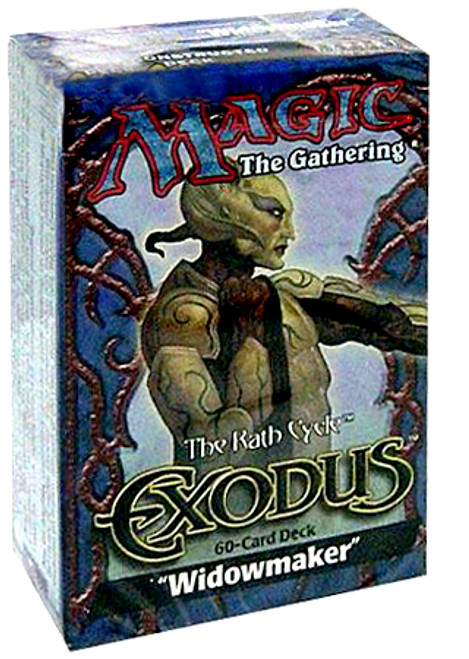 MtG Exodus Widowmaker Theme Deck [Sealed Deck]