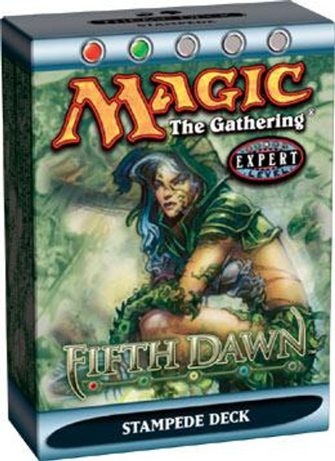 MtG Fifth Dawn Stampede Theme Deck [Sealed Deck]