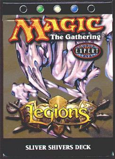 MtG Legions Sliver Shivers Theme Deck [Sealed Deck]