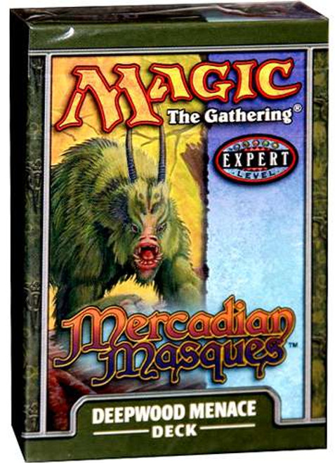 MtG Mercadian Masques Deepwood Menace Theme Deck [Sealed Deck]