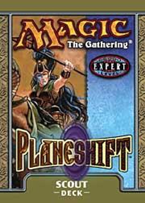 MtG Planeshift Scout Theme Deck [Sealed Deck]