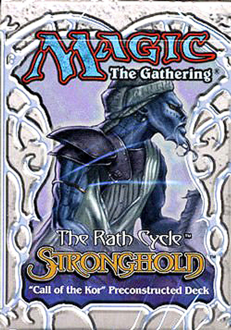 MtG Stronghold Call of the Kor Theme Deck [Sealed Deck]