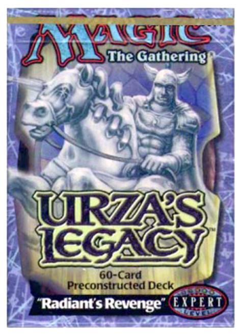 MtG Urza's Legacy Radiant's Revenge Theme Deck [Sealed Deck]