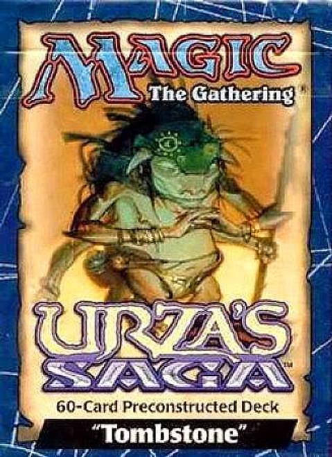 MtG Urza's Saga Tombstone Theme Deck [Sealed Deck]