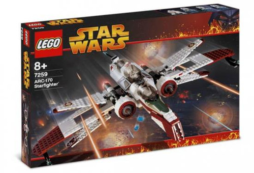 LEGO Star Wars Revenge of the Sith ARC-170 Starfighter Set #7259