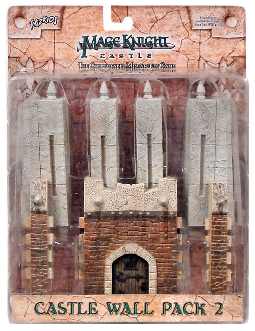 Mage Knight Castle Wall Pack 2 Accessory Pack