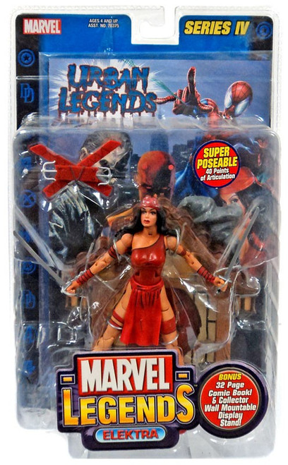 Marvel Legends Series 4 Elektra Action Figure