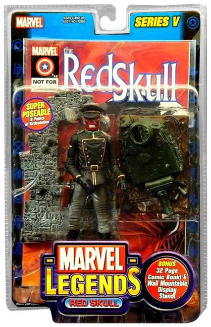 Marvel Legends Series 5 Red Skull Action Figure