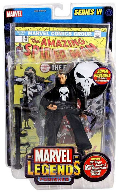 Marvel Legends Series 6 Punisher Action Figure [Movie Version]