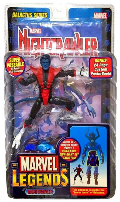 Marvel Legends Series 9 Galactus Nightcrawler Action Figure