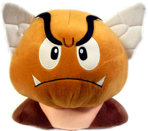 Super Mario Bros Goomba 12-Inch Plush [Wings]