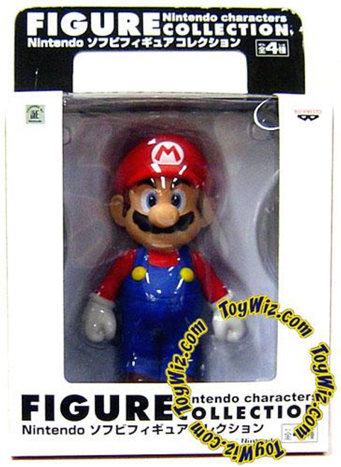 Super Mario Bros Mario 4-Inch Vinyl Figure